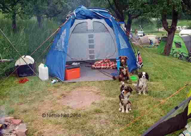 slide camping