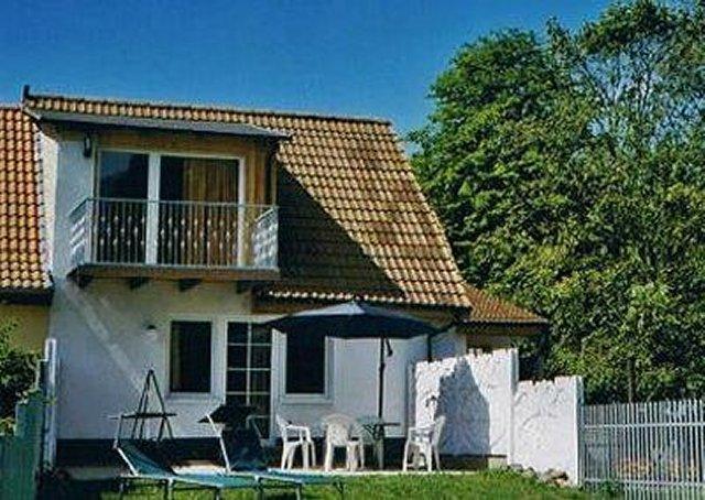 0058-01 Ferienhaus Schulz Hausansicht mit Terrasse