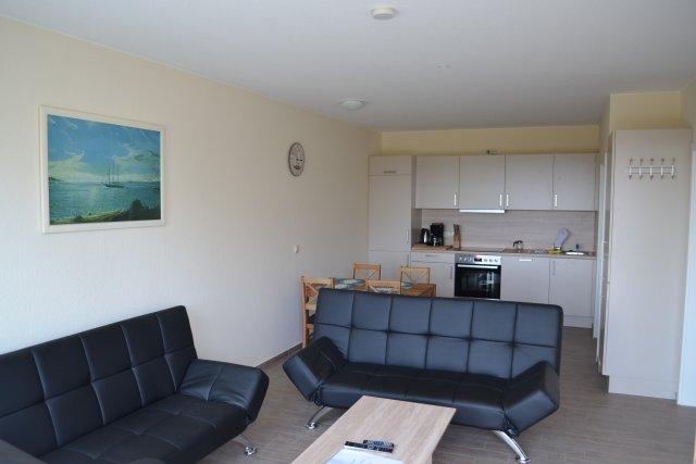 0079-08 Reiterhof Seeberg Appartement Wohn-Essbereich mit Einbaukueche