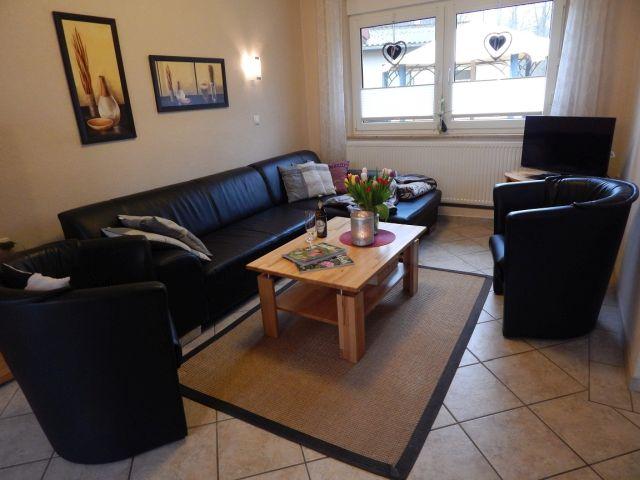 0132-06 Ferienhaus Geers Wohnzimmer