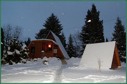 0182-06 Waldferienhäuser Haus 3 Winter