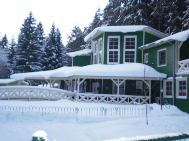 0187-03 Ferienanlage Steintal Geraberg Winteransicht