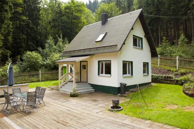 0187-08 Ferienanlage Steintal Geraberg Ferienhaus 3