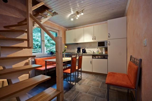 Ferienhaus 3 Küche
