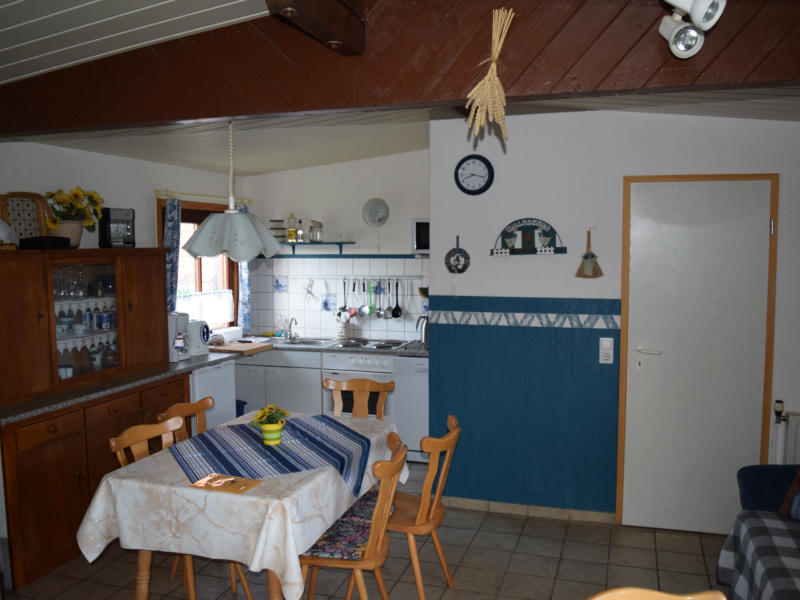 Blockhaus Küche
