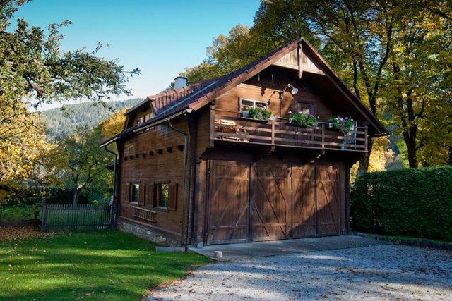 0212-05 Ferienhaus Fuhrwerkhaus Aussenansicht