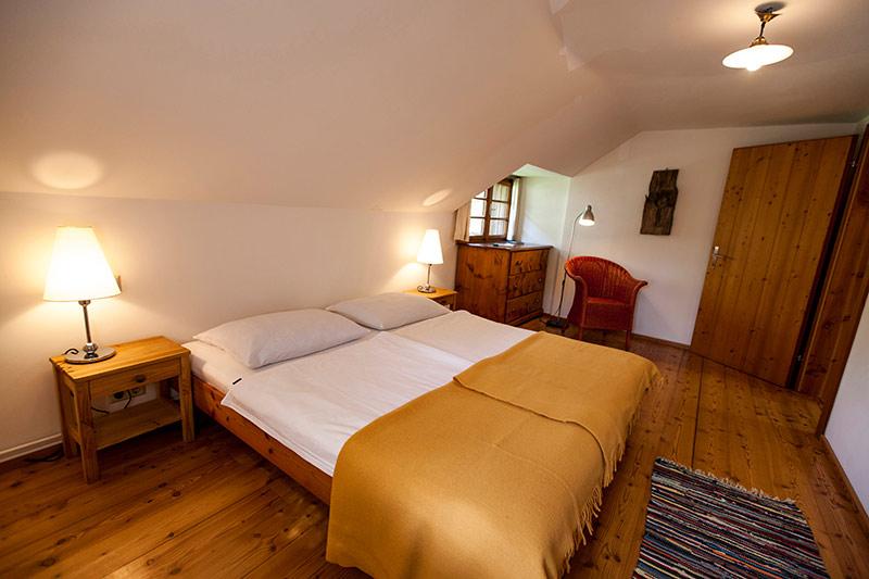 0212-08 Ferienhaus Fuhrwerkhaus Schlafzimmer