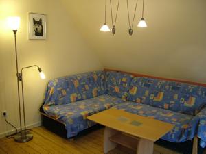 0223-08 Haus zum Husky FeWo Alaska Wohnzimmer