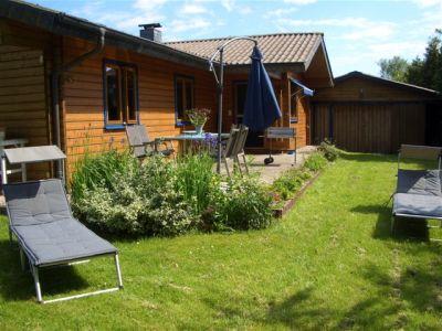 0260-01 Haus Seestern Terrasse und Garten