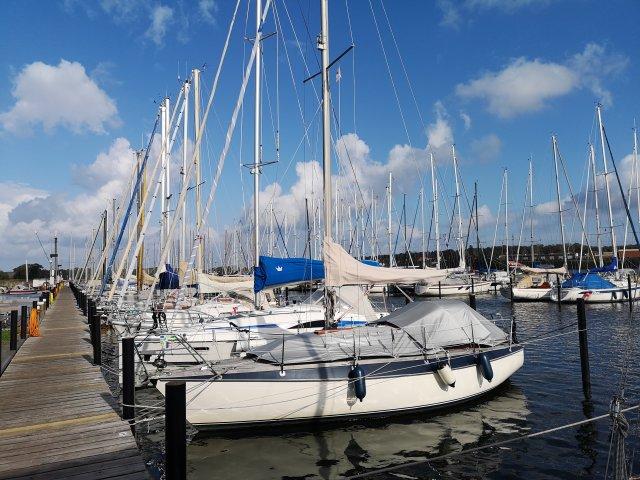 0260-16 Haus Seestern Hafen in Kappeln