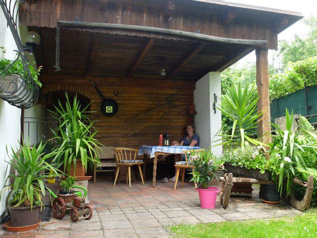 0326-05 Ferienhaus Siebenschlaefer Hauseingang