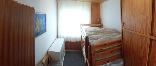 0326-09 Ferienhaus Siebenschlaefer Stockbettzimmer