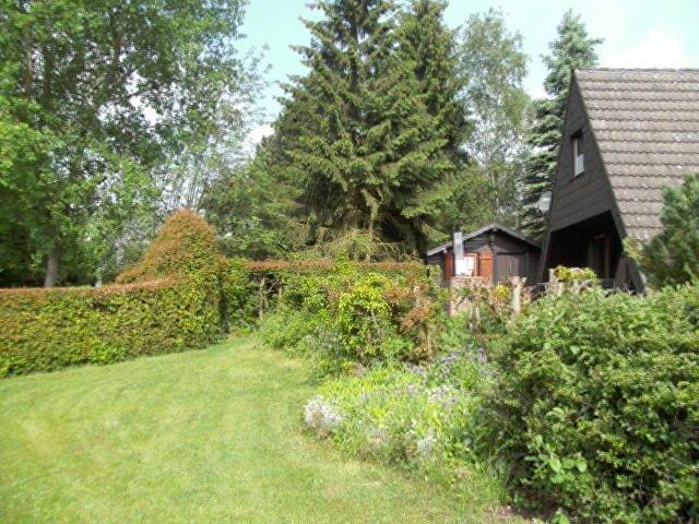 Bennys Hütte Garten