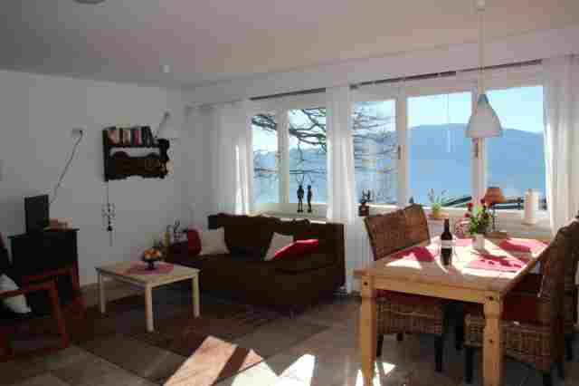 0354-09 Haus Mauken FeWo 1 Wohnraum