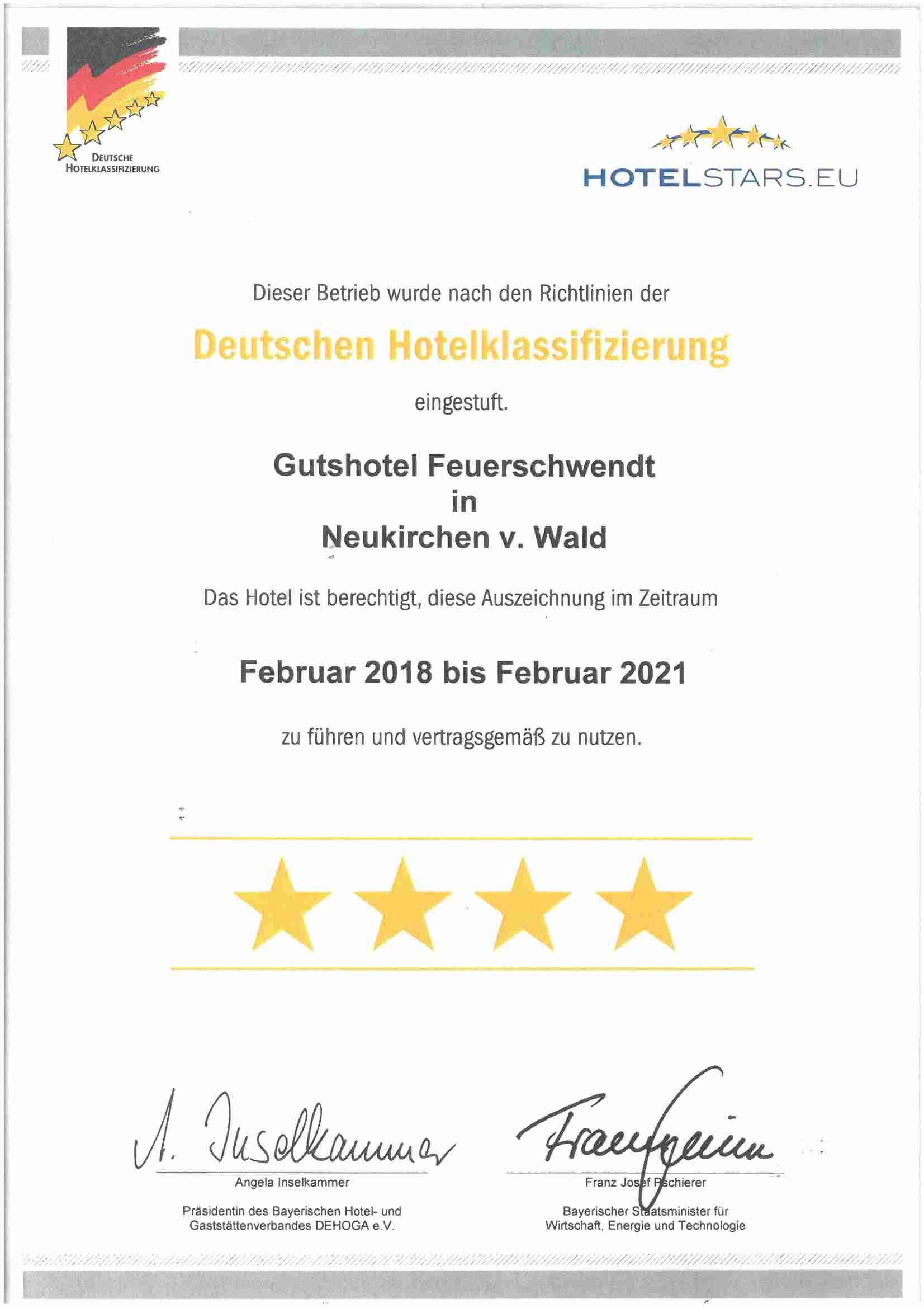 0008-17 Gut Feuerschwendt Zertifikat