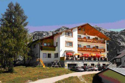 0006-01 Alpenrose Hausansicht Sommer