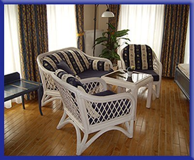 0128-06 Hotel Svantevit Zimmer Sitzecke