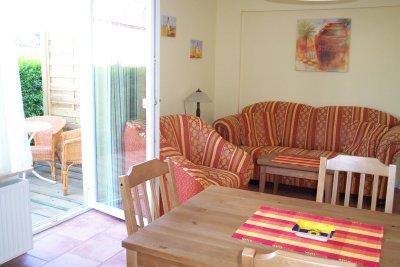 0281-05 Strandhaus Bello Cane Wohnzimmer Erdgeschoss