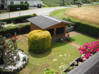0321-01 Ferienwohnung Brandenstein Garten