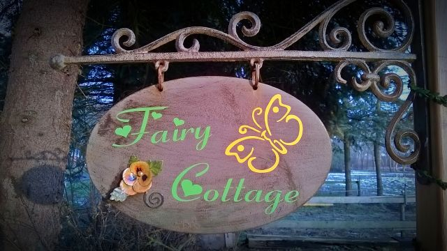0491-11 Fairy Cottage Schild
