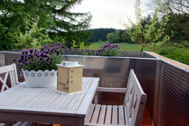 0530-11 Ferienwohnung Solling-Lounge II Balkon mit Weitblick