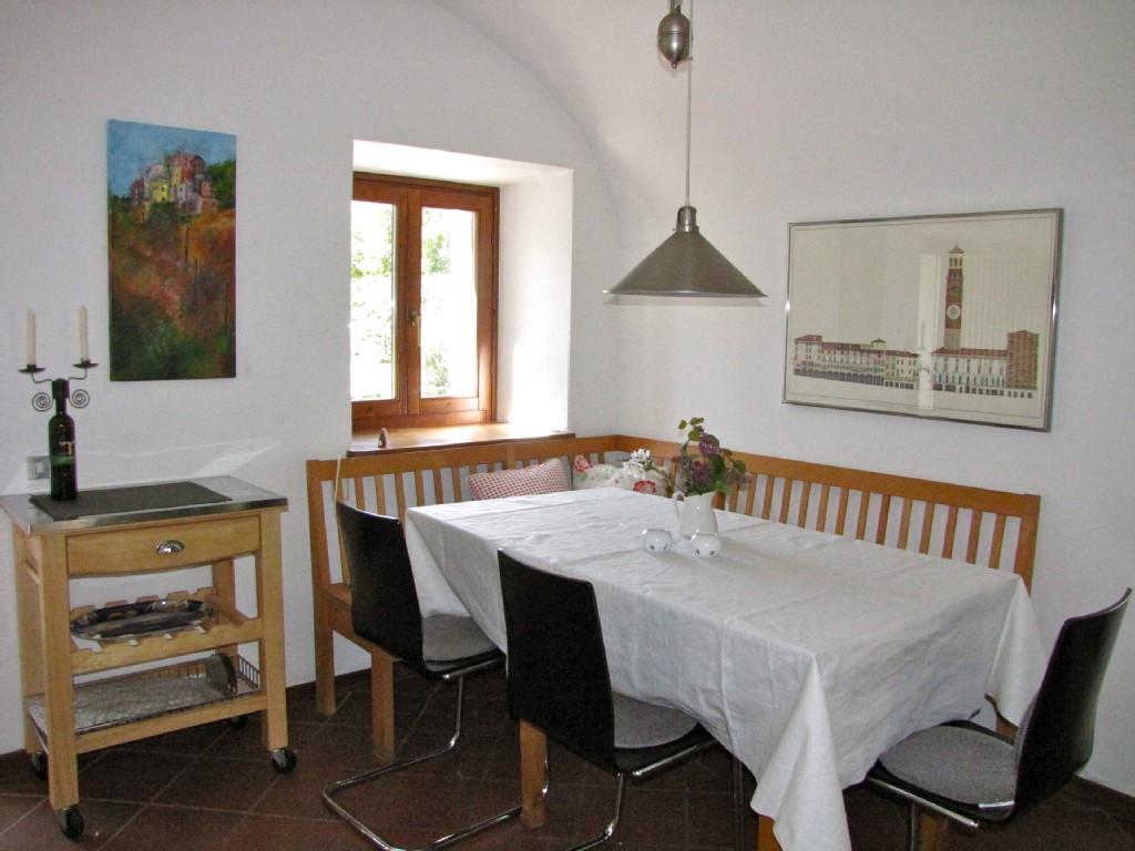0551-07 Ferienhaus Rustico Bell Aria Esszimmer