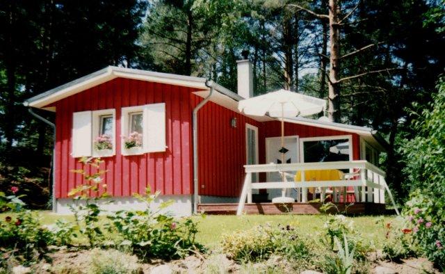 0556-01 Ferienhaus Kleen Luhm Hausansicht Front