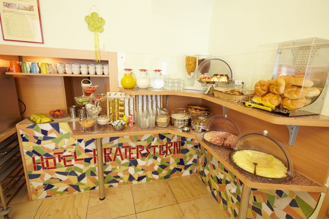 0589-07 Hotel Praterstern Frühstücksbuffet