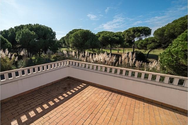 0601-04 Golf Villa Andalusien Dach-Terrasse
