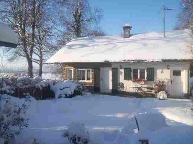 0602-04 Ferienhaus Zamperl Aussenansicht Winter