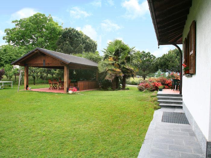 0605-03 Ferienwohnung Vela Garten