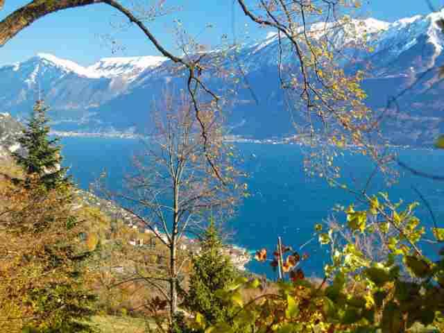 0607-10 Ferienhaus Castagneto Blick auf den Gardasee