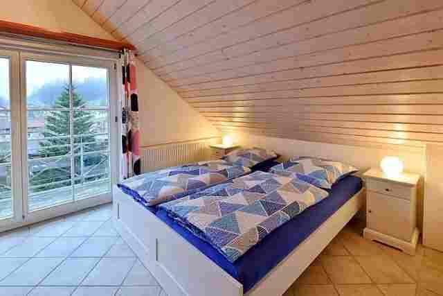 0612-09 Ferienhaus Enzkloesterle Schlafen 02