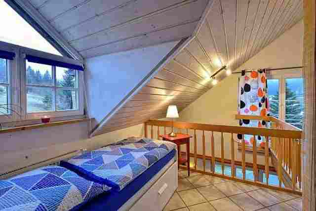 0612-11 Ferienhaus Enzkloesterle Schlafen 4