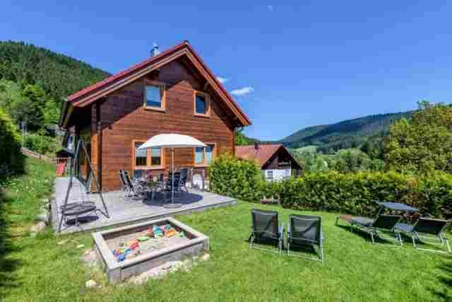 0613-01 Ferienhaus Fronwald Aussen