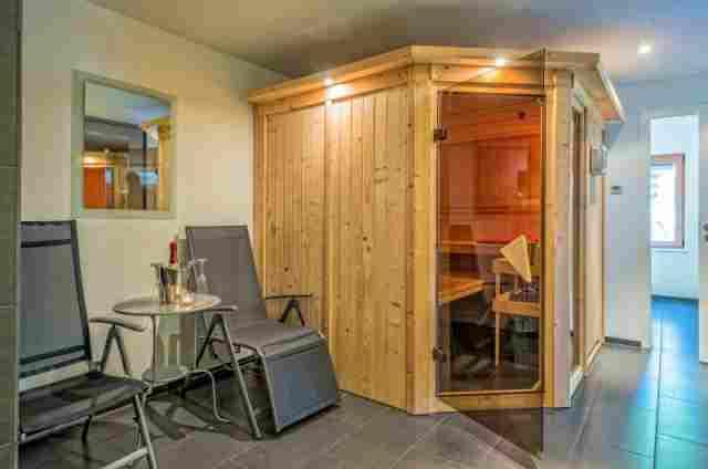 0613-12 Ferienhaus Fronwald Sauna