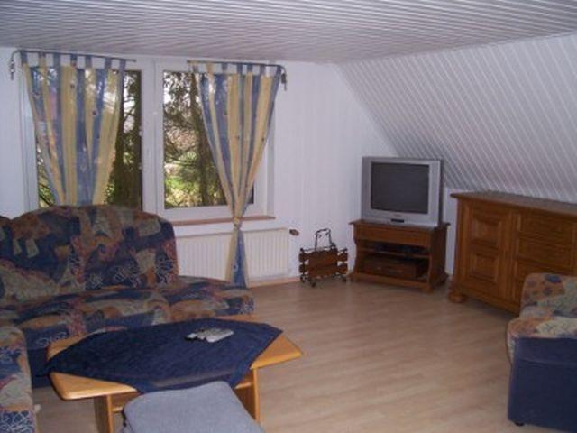 0625-08 Ferienhaus Villa Schnauzer Wohnzimmer Bild 1