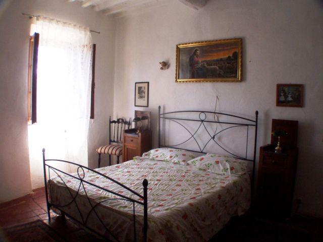 0636-10 Rustico Casa Mela Schlafzimmer mit Doppelbett