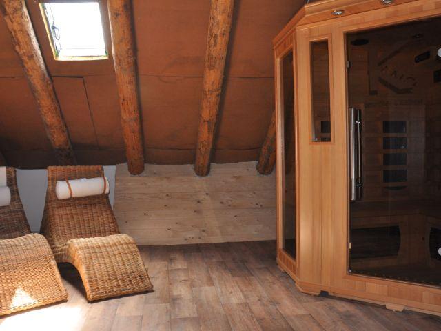0638-13 Ferienwohnung Fietje Sauna-Infrarotkabine