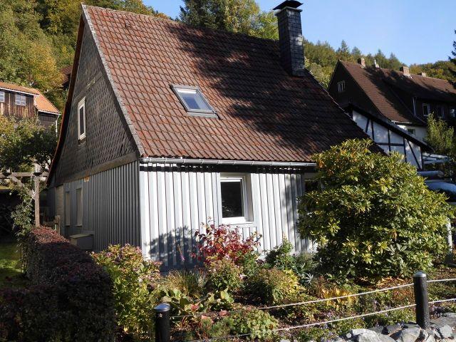 0641-01 Ferienhaus zur Eule Aussen Sommer