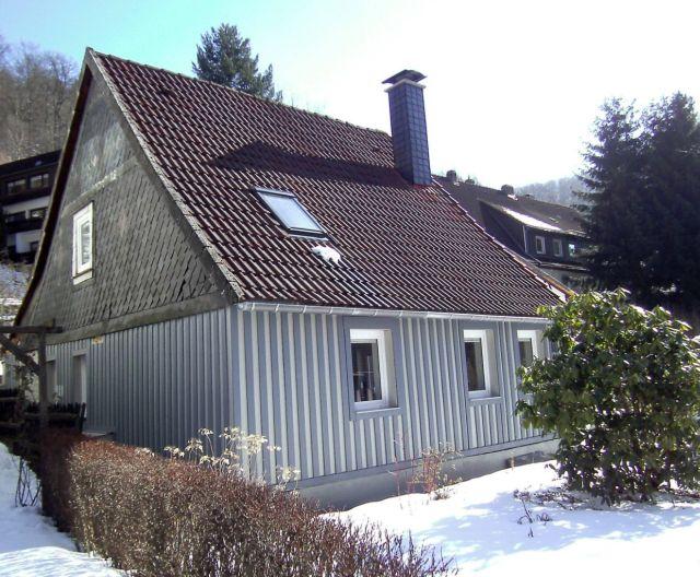 0641-02 Ferienhaus zur Eule Aussen Winter
