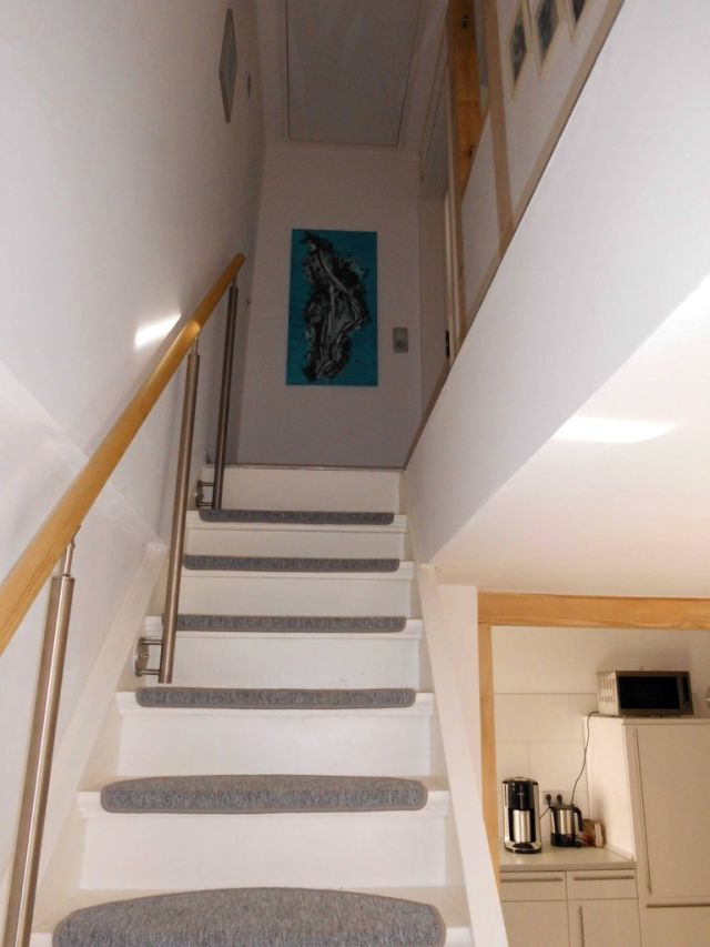 0641-10 Ferienhaus zur Eule Treppe zum OG