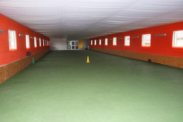 0690-14 Feriengut Sewekow Hundesporthalle