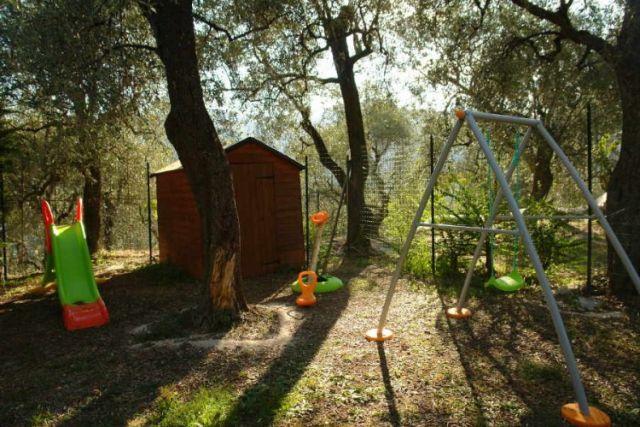 0698-02 Ferienwohnung U Rundo Ulivo Garten