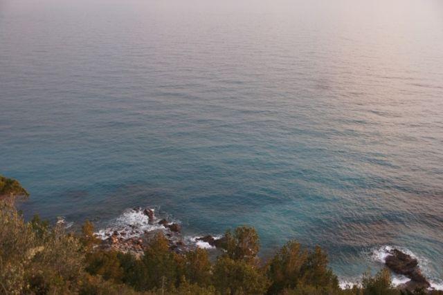 0707-11 Ferienhaus Villino Capo Berta Blick aufs Meer