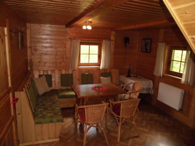 Berghütte Wohnraum