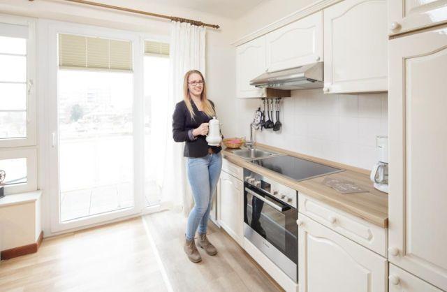 0714-05 Ferienwohnung Marbijes Küchenzeile