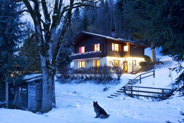 0720-01 Ferienhäuser Gerhart Haus 1 Winter