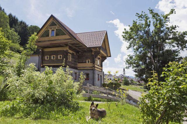 0720-13 Ferienhäuser Gerhart Bauernhaus Sommer