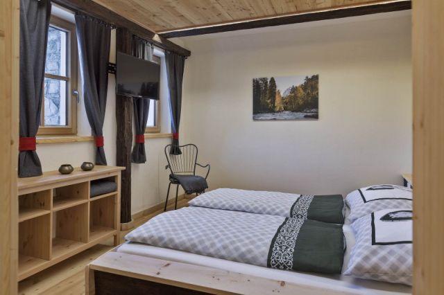 0720-16 Ferienhäuser Gerhart Bauernhaus Schlafzimmer 2
